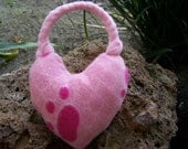 Pull me with love dog toy