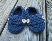 Crochet Baby Loafers booties shoes