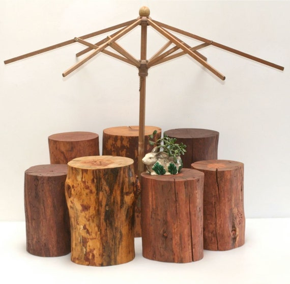 Reserved Firepit Stump Seat Stool Outdoor Deck Patio Yard