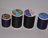 DESTASH-4 dark thread spools