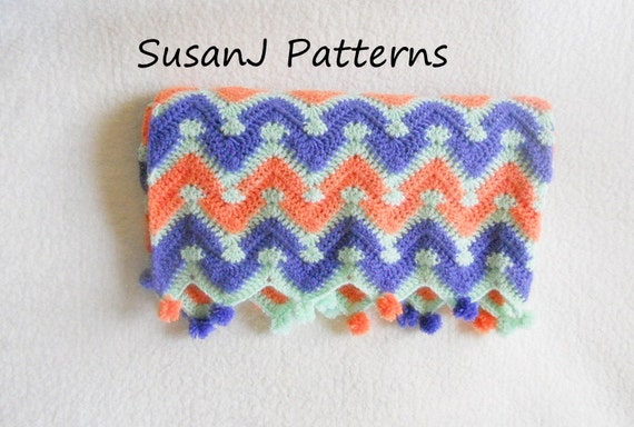 Crochet Afghan Patterns Chevron : 301 Moved Permanently