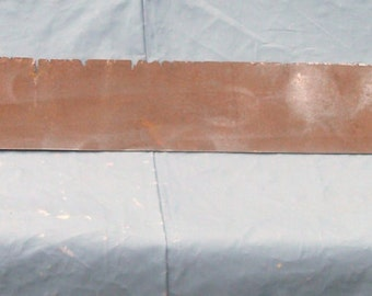 60 Inches Section Of Weathered Steel Great for all your interesting projects  (Item Has 50 % OFF APPLIED)