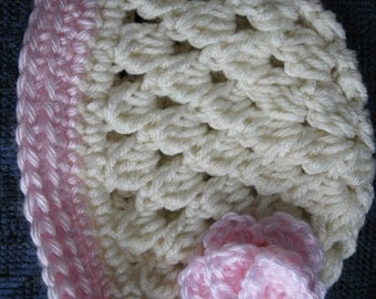 Crochet Baby Hat - Custom made in sizes for Preemie, Newborn and/or 6 Month