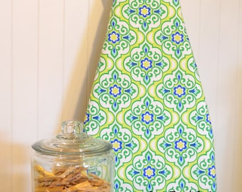 Ironing Board Cover - Michael Miller Lavinia Honore Mint