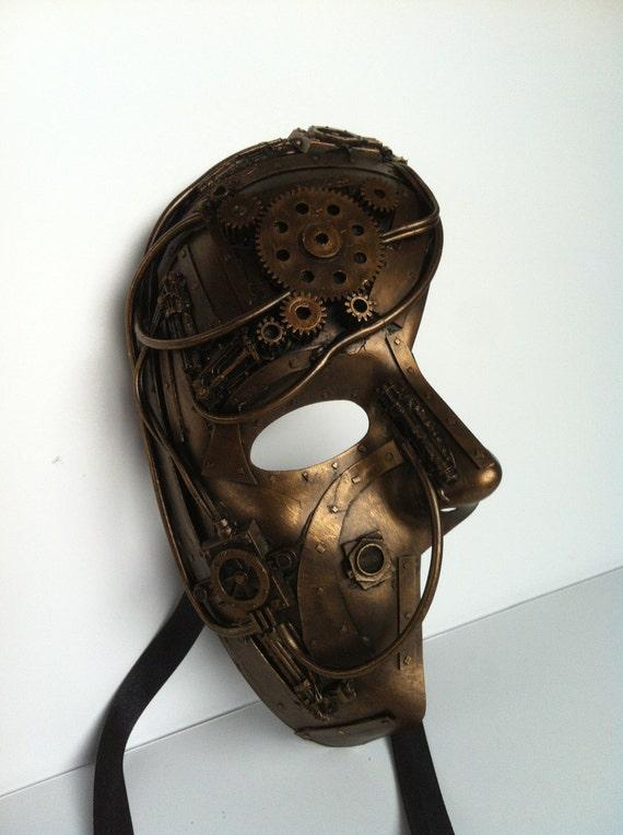 steampunk / techno phantom mascarade mask
