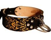 Dog Collar - Victorian Single Strap