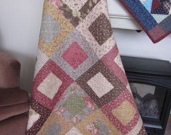 Garden Party Quilted Lap Quilt