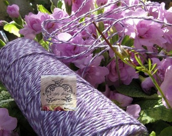 Bakers Twine in Purple and White
