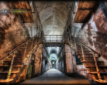 Eastern State Penitentiary Fine Art  Photo Print-