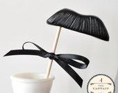 Mustache on a Stick - The Captain - CHOOSE A COLOR