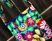 Fabric Tote/Handbag/Purse/Crossbody/Hipster - The Breezy Crossbody - over 200 fabric choices