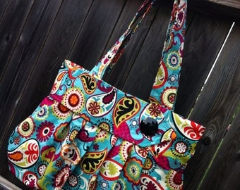 The Rue - Fabric Tote/Handbag/Purse/Hobo