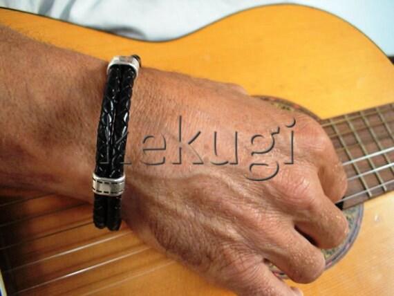 mens bracelets, Mens beaded bracelets, etsy jewelry, leather bracelets, mens Braided bracelets, Braided leather bracelet, Braided wristbands