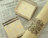 Various Square Pattern Crystal Stamp (1.6 x 1.6in)
