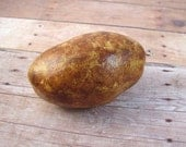 Russet Baked Potato Polymer Clay Christmas Ornament - Farmers Market Collection - Made to Order