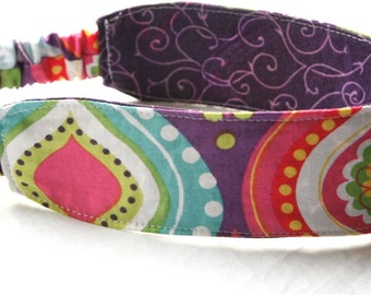 Fabric Headband, Reversible Headband : Customize fabrics