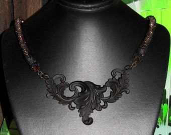 Victorian Flourish Necklace