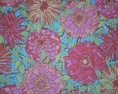 Sale-Victorian Modern Large Scale Floral  -- Full or Half Yard Andover Quilting Fabric
