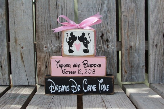 Mouse DISNEY Wedding Family Happily Ever After Name Personalized ...