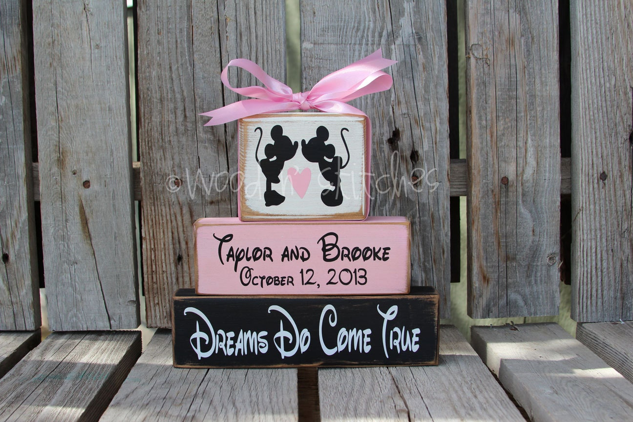 Personalized Disney Wedding Gifts