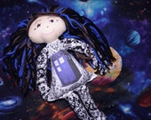 Gallifreyan Little Rebel Rag Doll