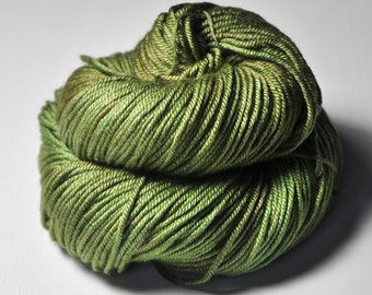 I know what happened to the olive - Silk/Merino DK Yarn superwash