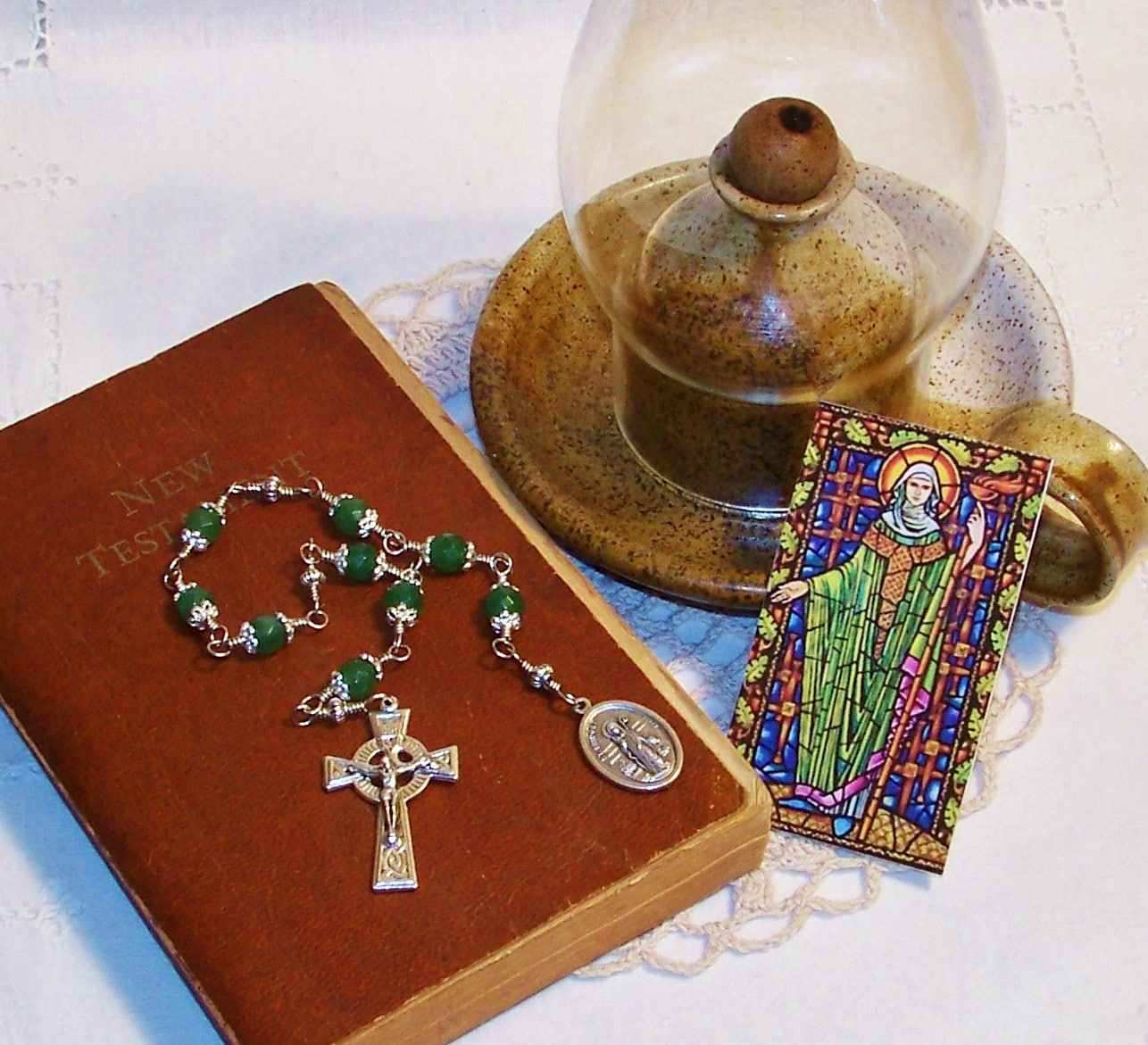 Unbreakable Chaplet Of St Bridget Of Ireland Patron Saint