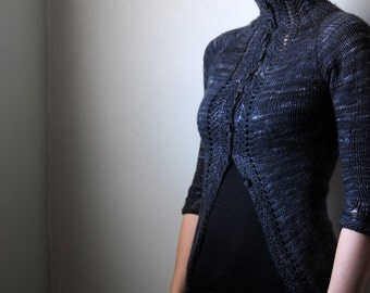 FORTRESS Knitting Pattern PDF Cardigan