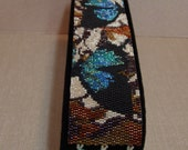 """BR-018 """" Butterfly Illusions """" Two Drop Peyote Pattern by Lorraine Hickman of Trinity DJ"""