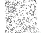 Digital coloring page 3