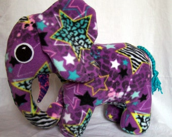 Customizable Elephant Plush - choose your own colors and patterns