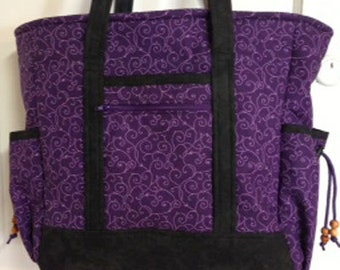 Quilted Professional Tote Bag