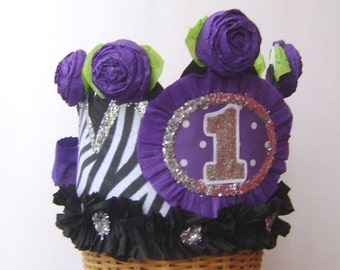 1st Birthday Party Crown, 1st birthday party hat, baby birthday hat, babies 1st birthday hat, customize