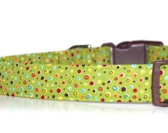 Avacado,,,,, Dog Collar from Neck Candy Collars