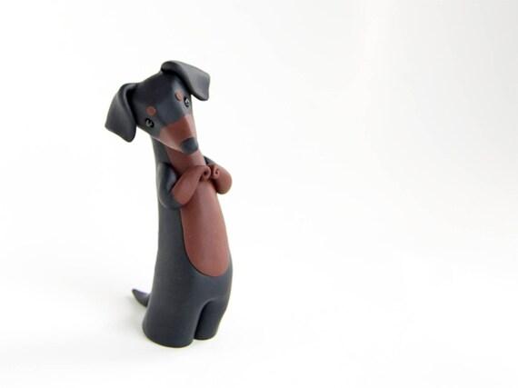 Dachshund Figurine by Bonjour Poupette