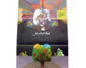 Milton Glaser Poster - Johann Sebastian Bach - Biggs Book
