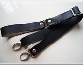 1 pcs 65-90cm adjustable black quality cow leather bag strap purse strap with silver lobster,replacement,handbag strap