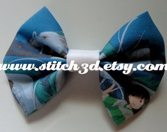 Spirited Away Chihiro and Haku Hair Bow or bow tie