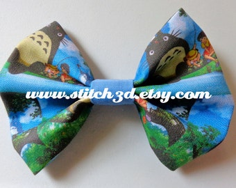 My Neighbor Totoro Hair Bow or bow tie