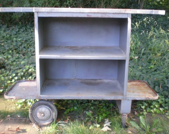 Vintage  Industrial Factoy Cart / Pick Up or Delivery ONLY