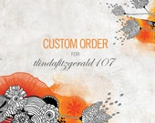 CUSTOM ORDER listing for lindafitzgerald107
