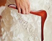 This listing is for 5 custom hangers. Personalized Custom Hangers, Wedding Hangers, Bride, Name Hanger, Wedding Hanger, Bridal Gift