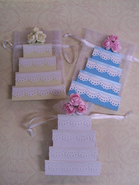 wedding cake bags for guests wedding cake favor bags 10 pieces 8566
