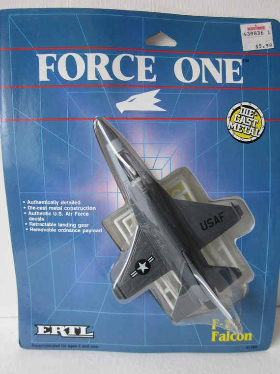 How To Flip Cars >> Ertl Force One Diecast Metal Planes Stealth Fighter Falcon