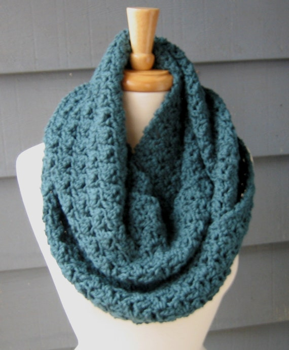 All Free Crochet Infinity Scarf Pattern : Make This Yourself - Crochet PATTERN - Instant PDF ...
