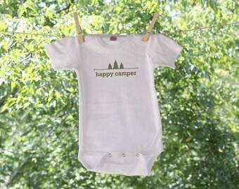 Happy Camper Trees - Infant Bodysuit