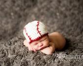 Newborn Baseball Hat Crochet Pattern