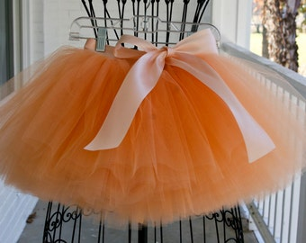 flower girl dress, flower girl dresses, tulle flower girl dress, tutu flower girl dresses, peach tutu