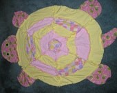 Turtle Shape Flannel Fabric Rag Quilt