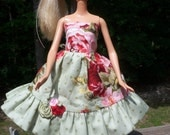 barbie doll dress CUSTOM ORDER FOR G